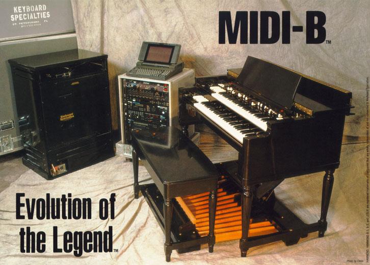 KEYBOARD SPECIALTIES - Hammond B-3, MIDI-B®, Superstock